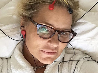 Yolanda Foster Continues Lyme Disease Treatmen to 'Get That Brain Back in Gear'
