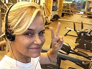 Yolanda Foster Hits the Gym Amid Health Struggles: 'I Think I Am Seeing the Light'
