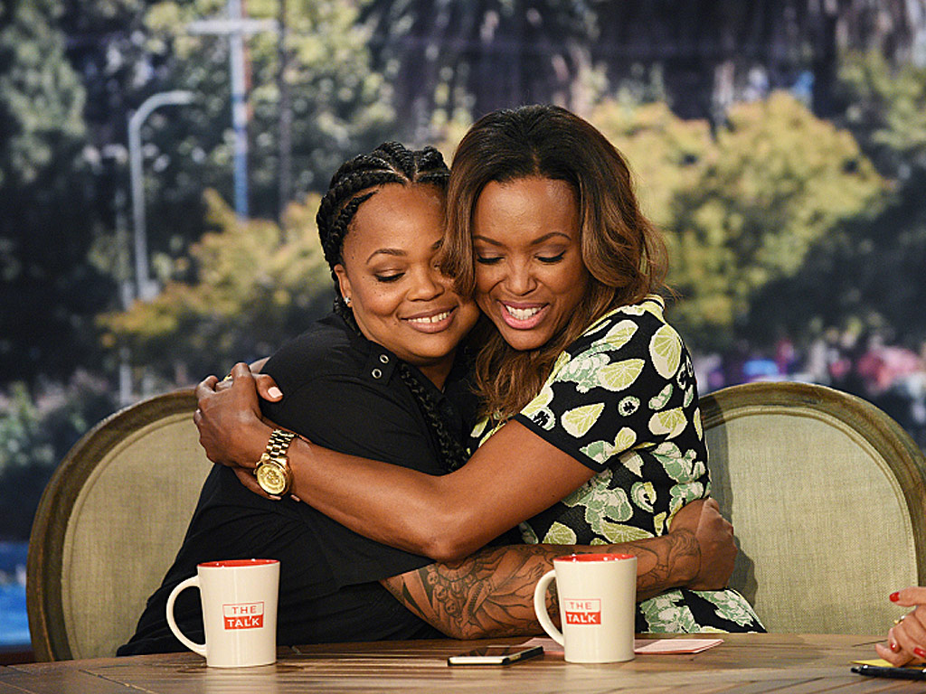 Photo of Aisha Tyler & her Sister  Feri Tyler