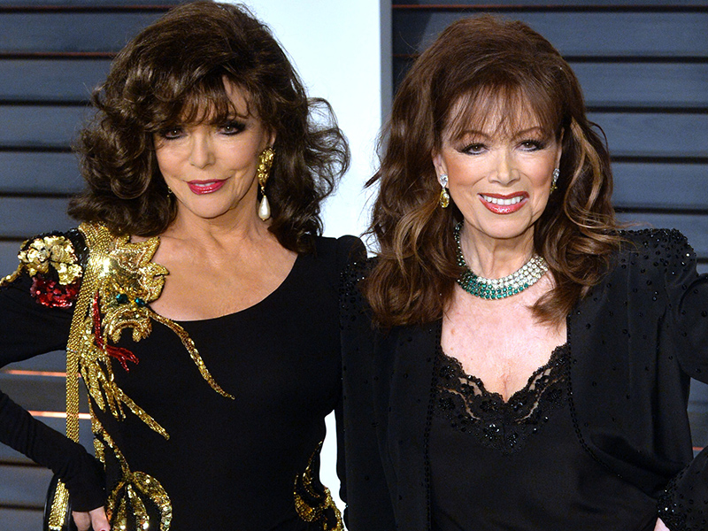Jackie Collins Mortos: Joan Collins Reaction