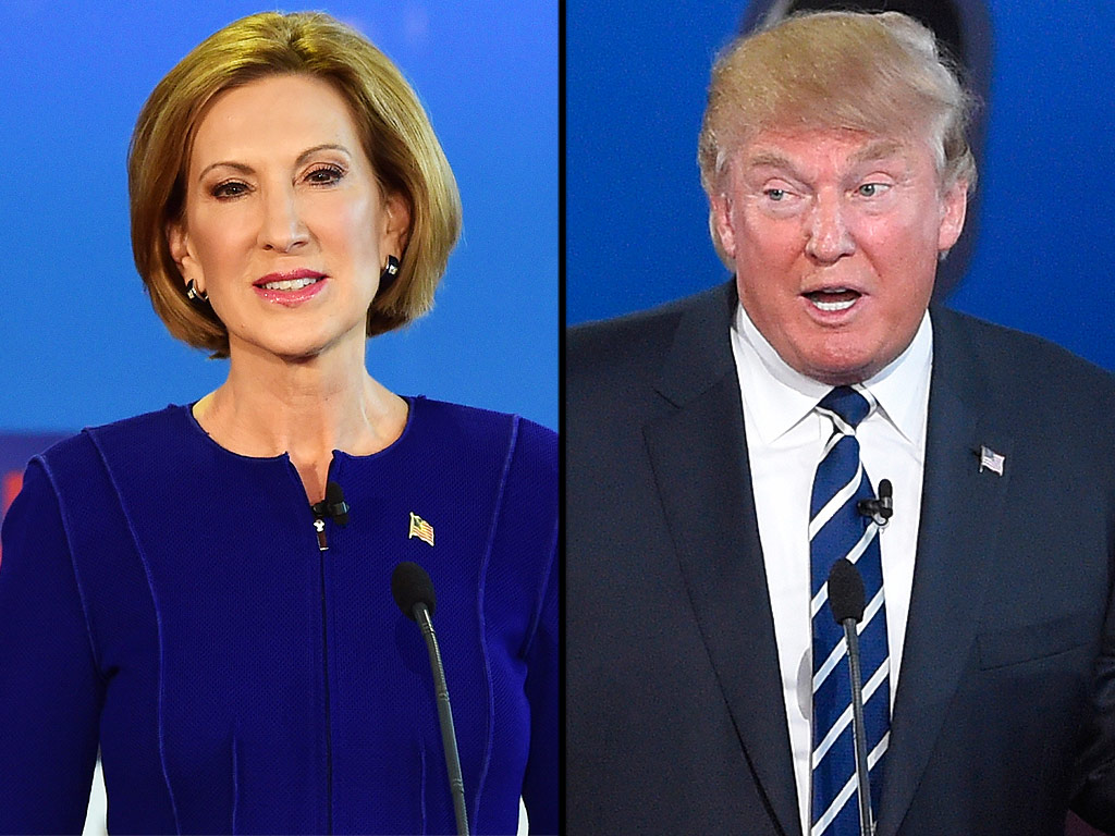 Carly Fiorina Responds to Donald Trump Saying She Has a 'Beautiful Face'