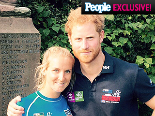 Prince Harry Helps U.S. Marine Make Poignant Tribute: 'He Helped Me Place My Dog Tag'