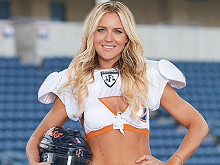 Meet Alli Alberts: Dentist by Day, Lingerie Football Player by Night