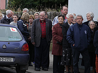 Hundreds of Mourners Meet At Cathriona White's Hometown in Ireland to Pay Respects