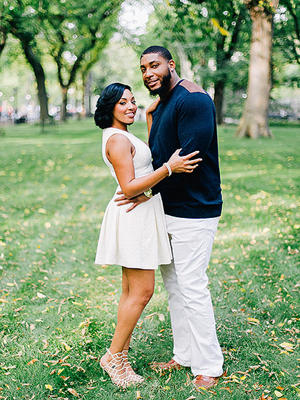 Devon Still Fiance, Wedding with The Knot.com