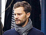 Jamie Dornan and Wife Amelia Cuddle Up During a Matching London Stroll (See Her Baby Bump!)