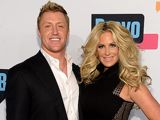 Kim Zolciak and Husband Kroy Biermann Have Lovey-Dovey Reunion On Snapchat