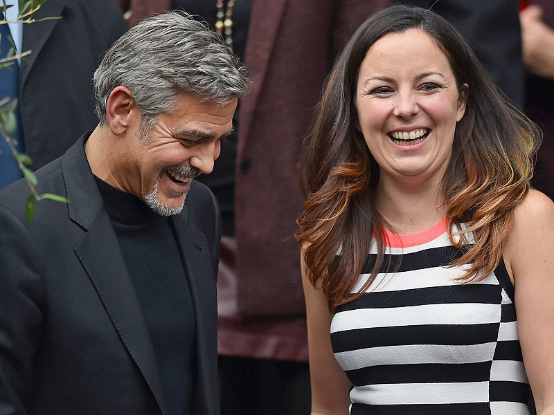 George Clooney: Scottish Woman Wins Lunch Date
