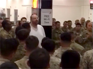 L.A. Businessman Buys 400 American Soldiers Dinner During Airport Layover: 'You Guys Risk Your Lives to Protect Me and My Family'