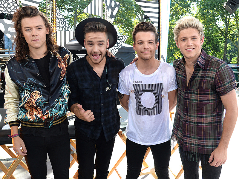 One Direction Talks New Year's Resolutions