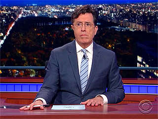 WATCH: Stephen Colbert Isn't Legally Allowed to Broadcast from the DNC – but 'Stephen Colbert' Is – Find Out Why