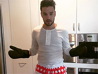 Happy Thanksgiving, One Direction Fans! Here's Liam Payne Posing in the Cutest Apron Ever