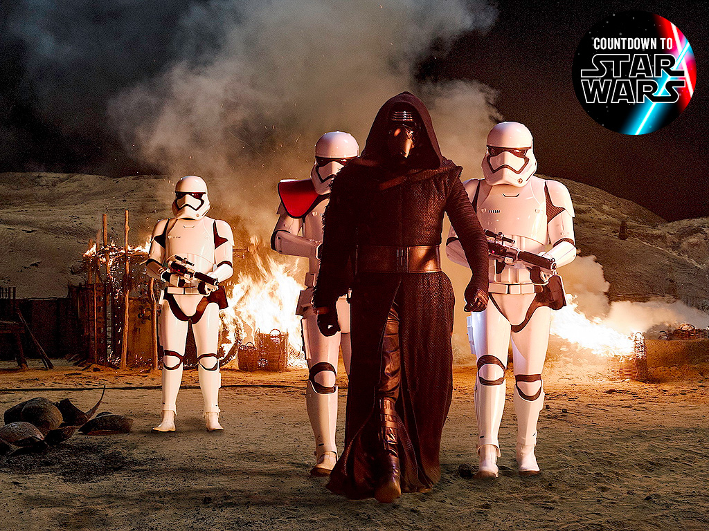 Star Wars The Force Awakens: Adam Driver, Gwendoline Christie Star
