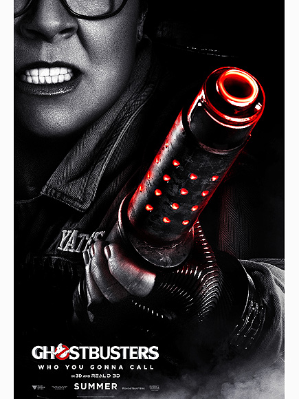 Melissa McCarthy Ghostbusters Official Character Poster