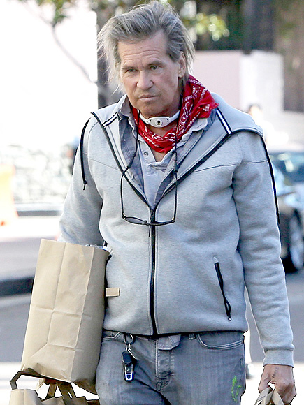 Val Kilmer Spotted Out...