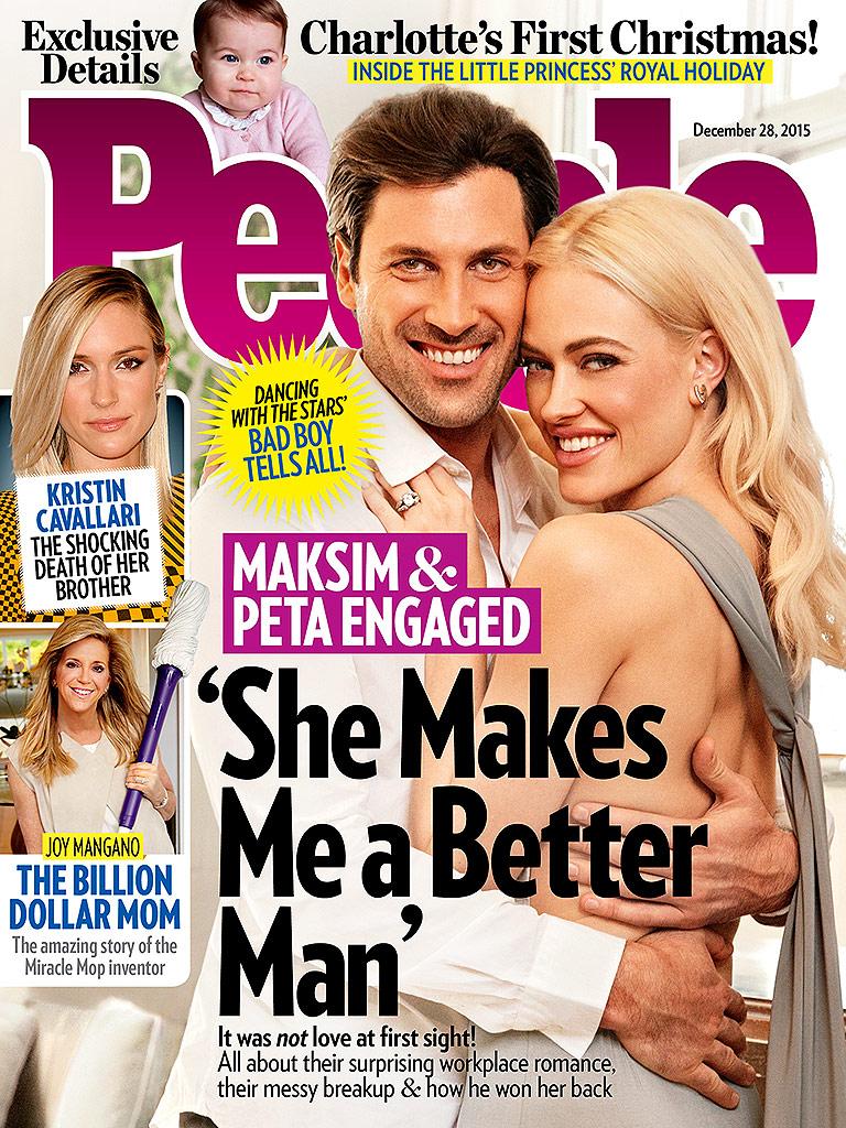 Maksim Chmerkovskiy, Peta Murgatroyd Engaged: Their Love Story : People.com
