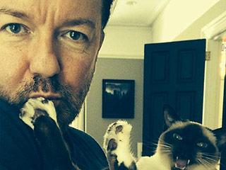 Who Knows Ricky Gervais Best? Hint: She's Furry