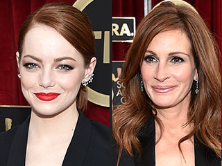 Emma Stone and Julia Roberts Give Their Unique Spin to the Lady Tux