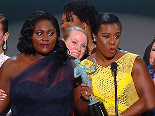 Orange Is the New Black Wins Outstanding Performance by an Ensemble in a Comedy Series