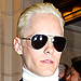 Jared Leto Debuts Platinum Hair in Paris (Do He and Kim Share a Stylist?)