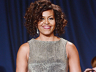 Michelle Obama Embraces Her Inner Disco Queen at the WHCD