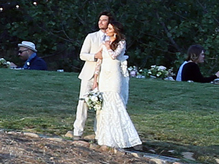 Nikki Reed's Wedding Dress Is Even Better from the Back: See the Stunning Photo