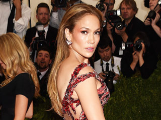 Jennifer Lopez Leaves Her Underwear at Home, Hits Met Gala Red Carpet in Sexy Dragon Dress