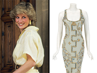 Princess Diana's Iconic Versace Dress Sold For $200,000 in Auction