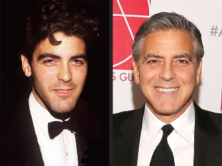 George Clooney's Changing Looks!