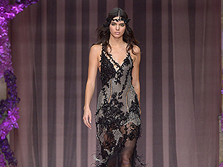 Kendall Jenner Rules the Versace Runway