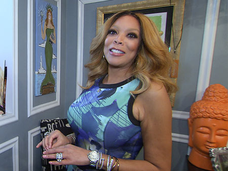 Take a Tour of Wendy Williams' Gloriously Bedazzled Office