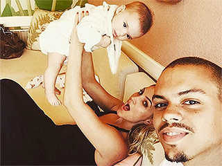 Evan Ross Shares Sweet Shot of Daughter Jagger with Wife Ashlee Simpson