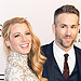 Ryan Reynolds and Blake Lively Welcome Second Child