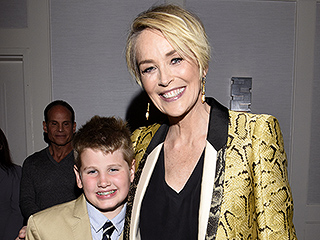 Sharon Stone and Son Laird Step Out for Mothers and Daughters Premiere