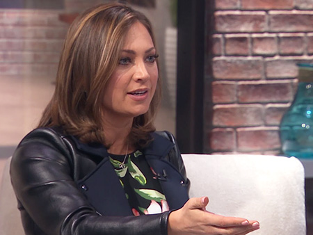 WATCH: Ginger Zee on the First Time She Left Son Adrian – and Went to Have Her Nails Done!