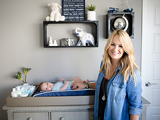 Inside Wes Chatham and Jenn Brown's Animal-Inspired Nursery for Son Rhett