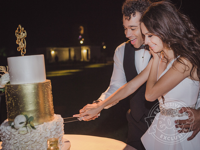 Check Out Corbin Bleu's Stunning 3-Tiered Wedding Cake