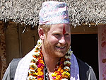 See All of Prince Harry's Best Scarf (and Hat!) Moments in Nepal