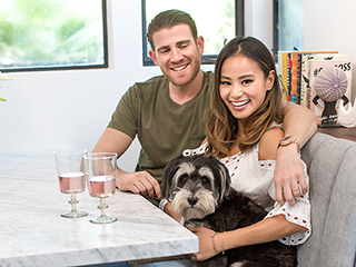 Inside Jamie Chung and Bryan Greenberg's Open and Airy Kitchen Makeover