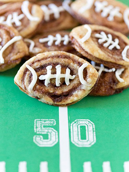 Football-Shaped Snacks for Your Super Bowl Party
