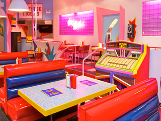 PHOTOS: Chicago's Saved by the Bell-Inspired Diner Is Everything You Wanted It to Be