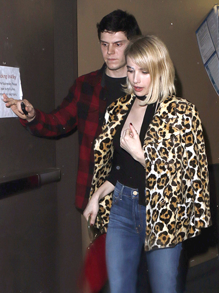 Emma Roberts and Evan Peters Spotted Enjoying Dinner Date