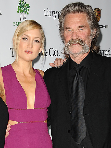 Kate Hudson and Kurt Russell to Present at Golden Globes