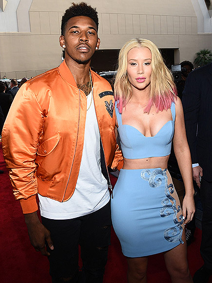 Iggy Azalea Beats Out Nick Young on a Bowling Date Night