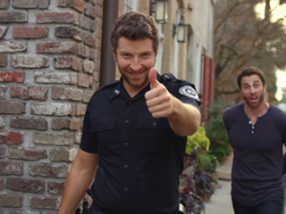 VIDEO: Why Brett Eldredge Loved Having His Brother Arrested in His 'Drunk on Your Love' Video