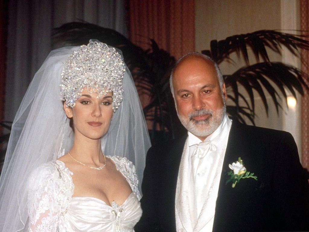 Αποτέλεσμα εικόνας για celine dion wedding