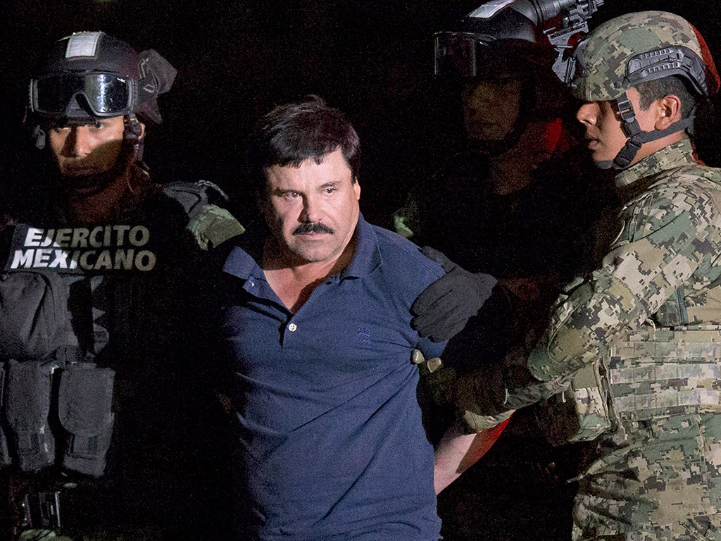 El Chapo Recaptured, Returned to Same Prison He Escaped From in 2014
