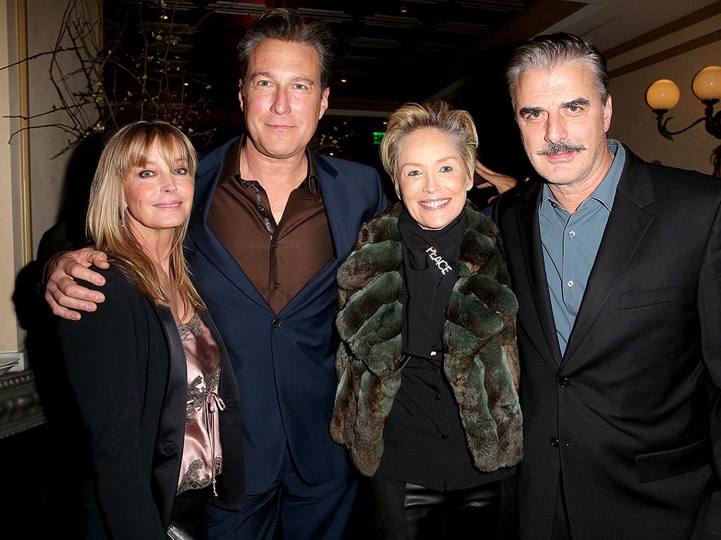 SATC Reunion with Chris Noth and John Corbett: Photo