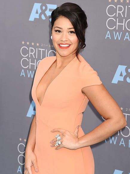Gina Rodriguez Wants Women to Embrace Their Body Diversity