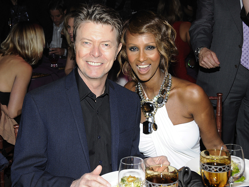 David Bowie Leaves Wife Iman Nearly Half of His $100 Million Fortune